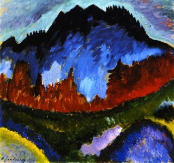 Landscape near Oberstdorf   Alexei Jawlensky   oil painting