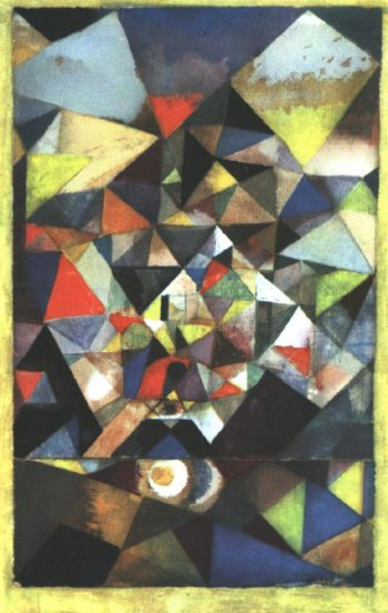 With the Egg, 1917 Paul Klee