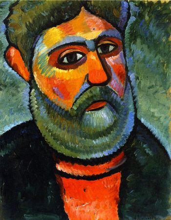 Man with Green Beard | Alexei Jawlensky | oil painting