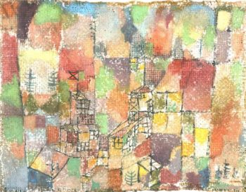 Two Country Houses, 1918 Paul Klee