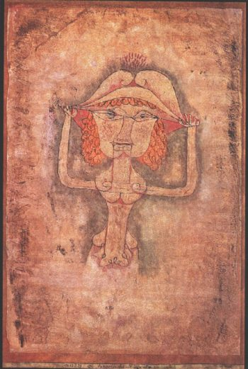 The Singer L. As Fiordiligi, 1923 Paul Klee