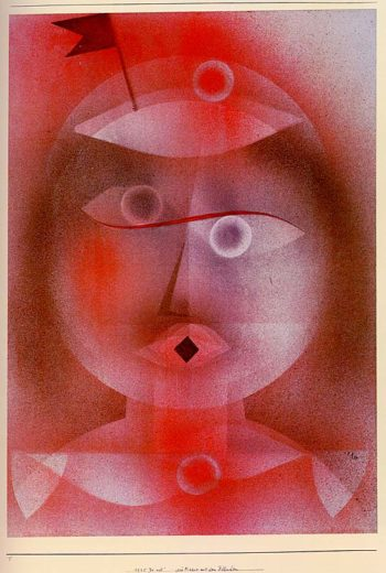 The Mask with the Little Flag, 1925 Paul Klee