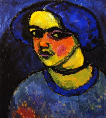 The Black Eyes | Alexei Jawlensky | oil painting