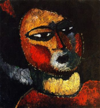 Woman with Red Cheeks | Alexei Jawlensky | oil painting