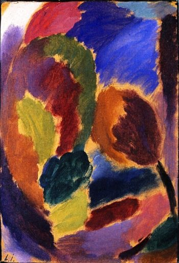 Variation The First Green in Spring | Alexei Jawlensky | oil painting