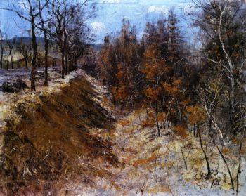 Der Wilde Graben neben der Chaussee | Christian Rohlfs | oil painting