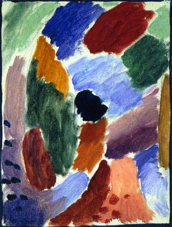 Variation Winter | Alexei Jawlensky | oil painting