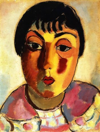 Dreaming Head | Alexei Jawlensky | oil painting