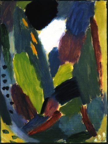 Variation Anger | Alexei Jawlensky | oil painting