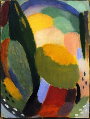 Variation Summer Blessing | Alexei Jawlensky | oil painting