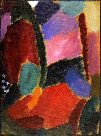 Variation Sunset | Alexei Jawlensky | oil painting