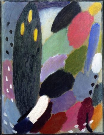 Variation   Alexei Jawlensky   oil painting
