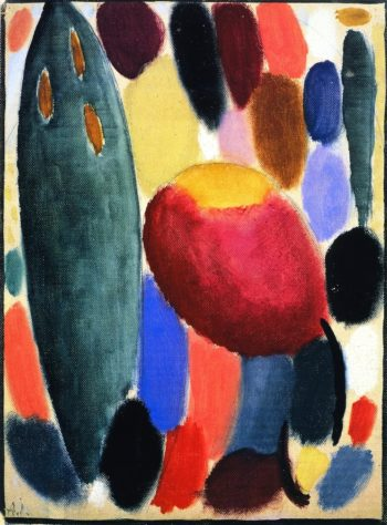 Variation Chords in Reflection | Alexei Jawlensky | oil painting