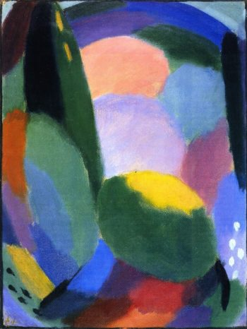 Variation Glorious Evening Summer Blessing II | Alexei Jawlensky | oil painting