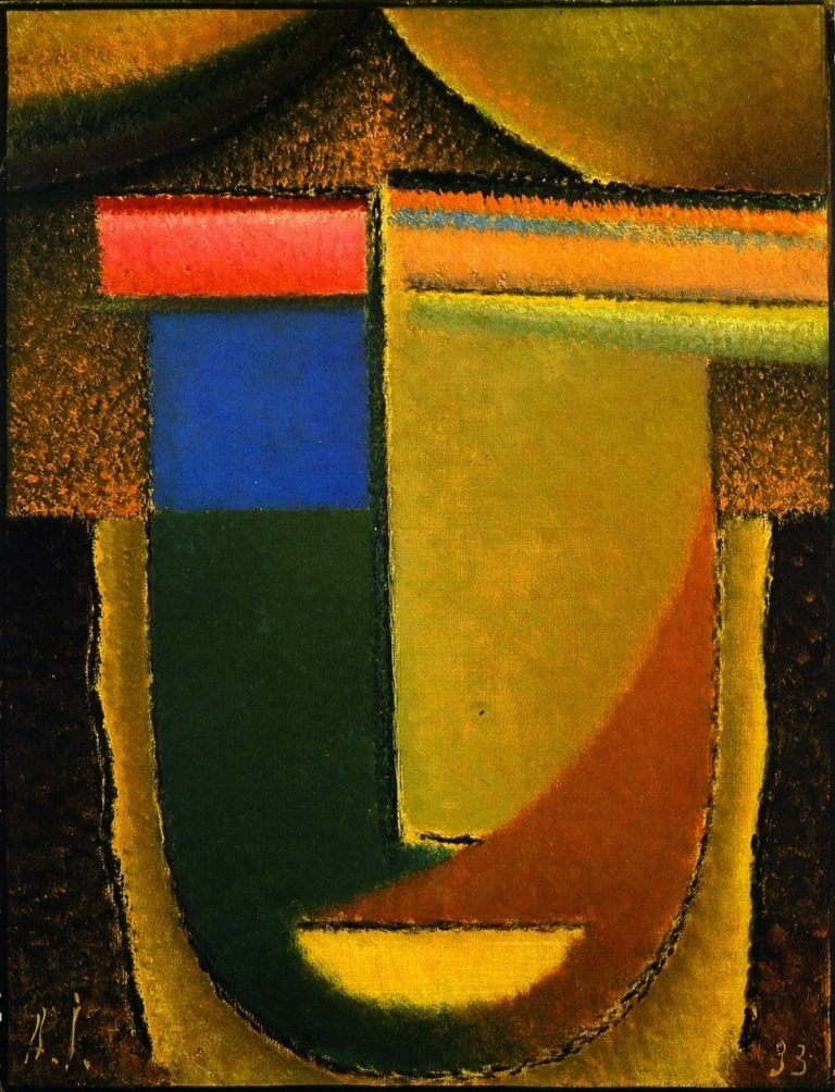 Abstract Head Africa | Alexei Jawlensky | oil painting