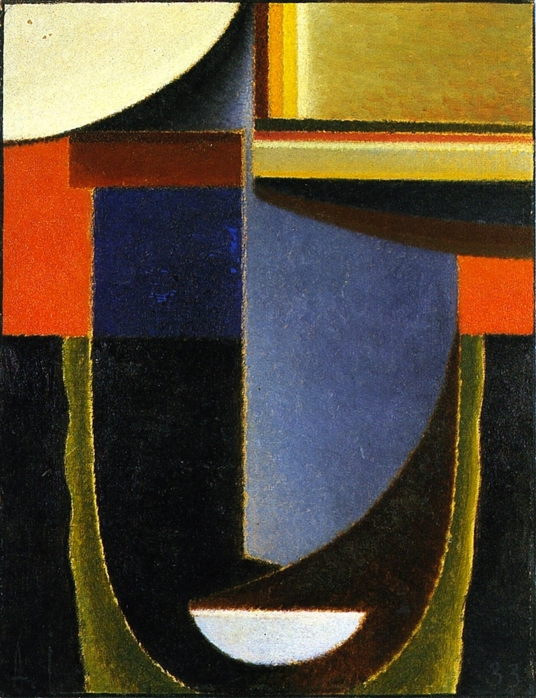 Abstract Head Andante | Alexei Jawlensky | oil painting