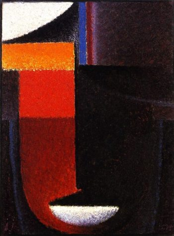 Abstract Head Atonal | Alexei Jawlensky | oil painting