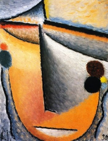 Abstract Head | Alexei Jawlensky | oil painting