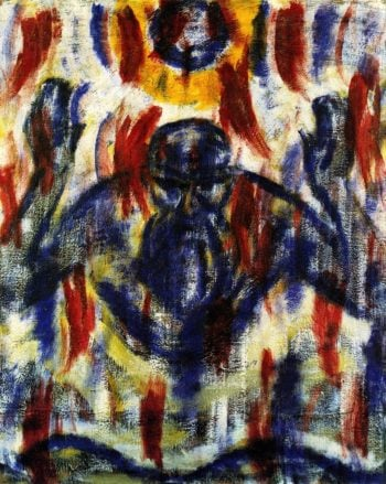 The Spirit of God upon the Waters | Christian Rohlfs | oil painting