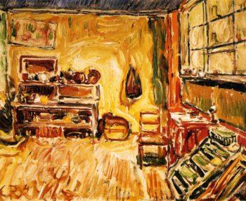 The Studio in Weimar | Christian Rohlfs | oil painting