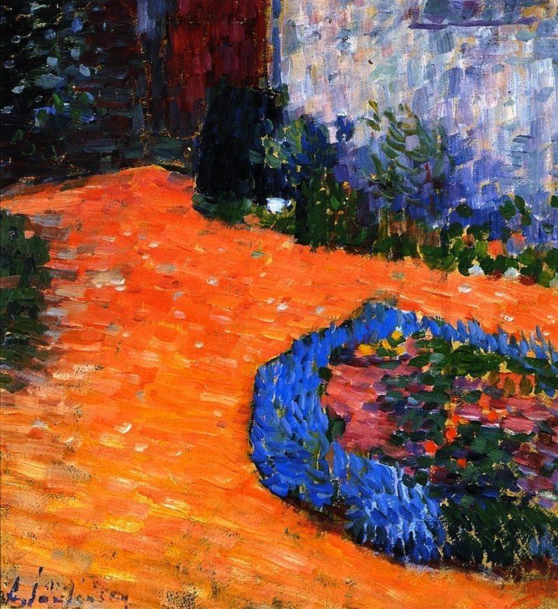 Andreas Garden Carantec | Alexei Jawlensky | oil painting
