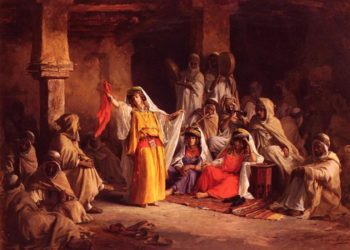 The Almeh | Eugene Alexis Girardet | oil painting