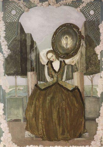 Enchantment | Konstantin Somov | oil painting