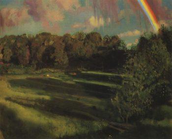Evening Shadows | Konstantin Somov | oil painting