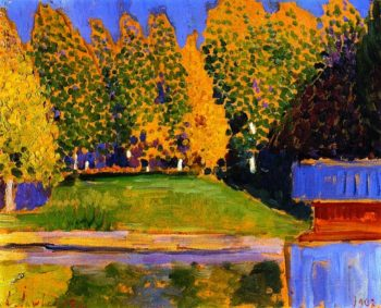 Autumn Landscape | Alexei Jawlensky | oil painting