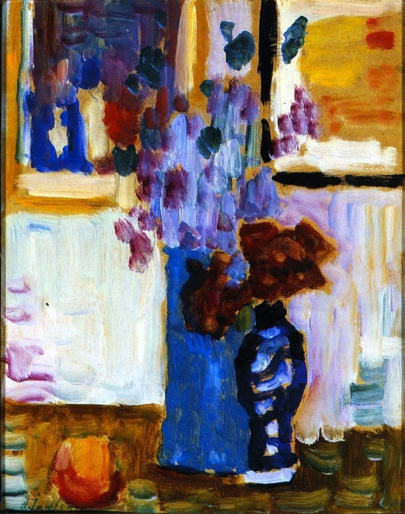Blue Vase | Alexei Jawlensky | oil painting