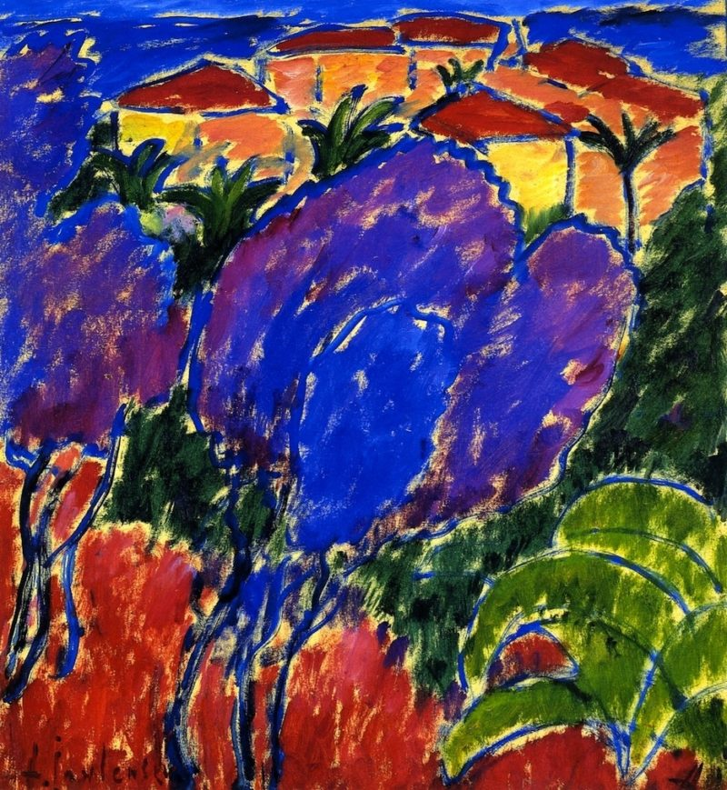 Bordighera | Alexei Jawlensky | oil painting