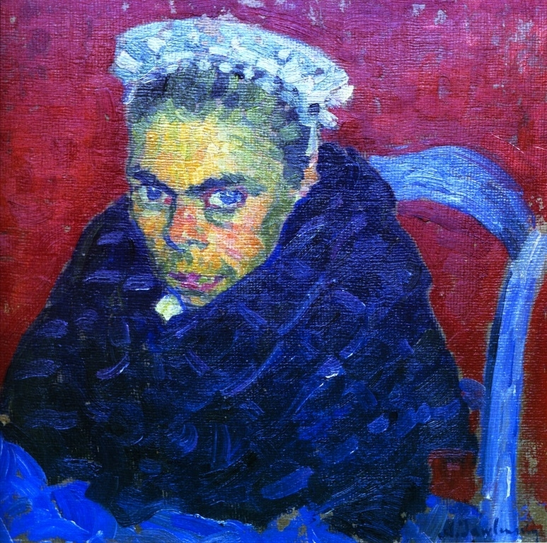 Breton Farmer's Wife | Alexei Jawlensky | oil painting