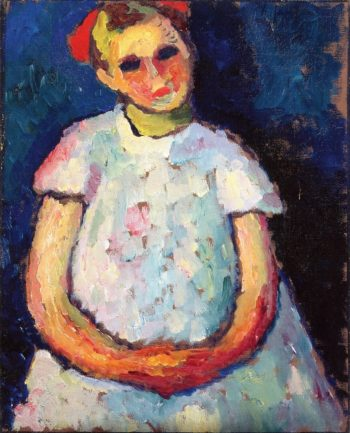 Child with Folded Hands | Alexei Jawlensky | oil painting