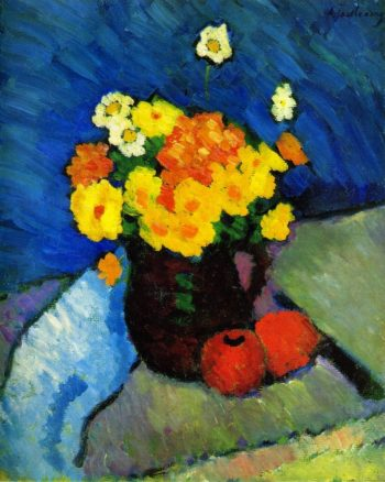 Floral Still LIfe | Alexei Jawlensky | oil painting