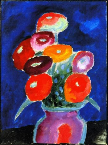 Flowers in a Vase | Alexei Jawlensky | oil painting
