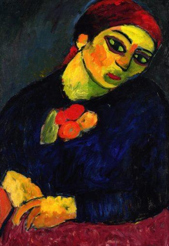 Helene   Alexei Jawlensky   oil painting