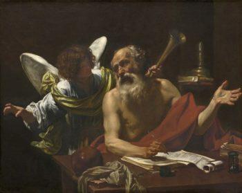 Saint Jerome and the Angel