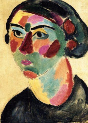 Julia   Alexei Jawlensky   oil painting
