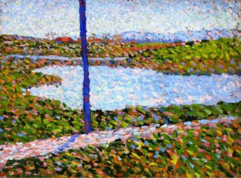 Landscape with Lake | Alexei Jawlensky | oil painting