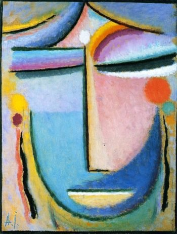 Large Abstract Head | Alexei Jawlensky | oil painting