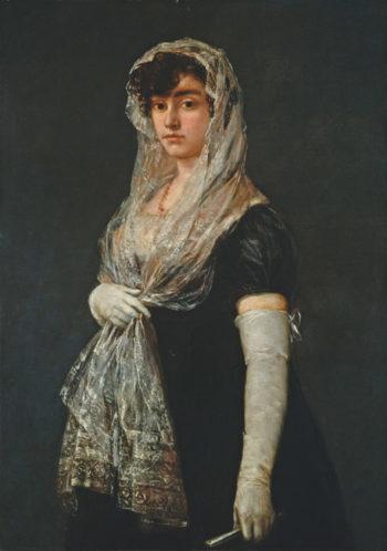 Young Lady Wearing a Mantilla and Basquina