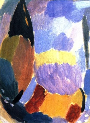Variation After the Storm | Alexei Jawlensky | oil painting