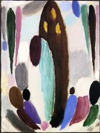 Variation Ascona | Alexei Jawlensky | oil painting