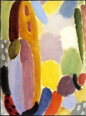 Variation Autumn Light | Alexei Jawlensky | oil painting