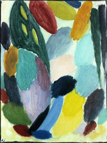 Variation Fresh and Ringing | Alexei Jawlensky | oil painting