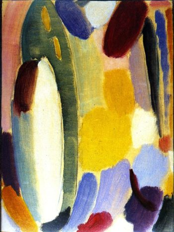 Variation Mass in White | Alexei Jawlensky | oil painting