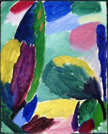Variation No 3 | Alexei Jawlensky | oil painting