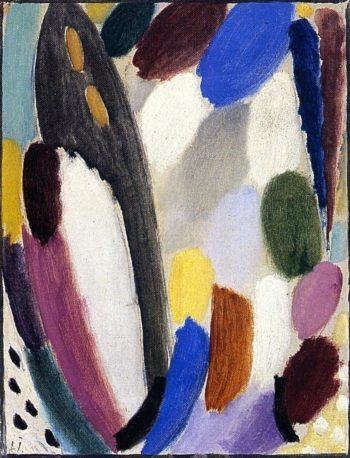 Variation Play of Color | Alexei Jawlensky | oil painting