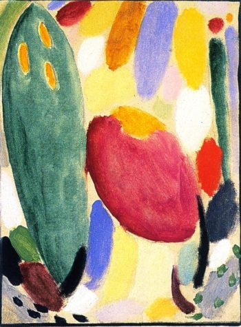 Variation Soul Forces | Alexei Jawlensky | oil painting