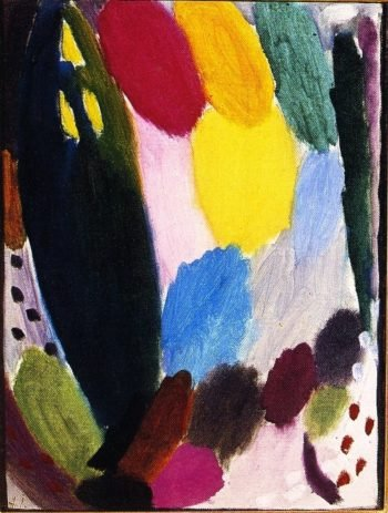 Variation Summer | Alexei Jawlensky | oil painting